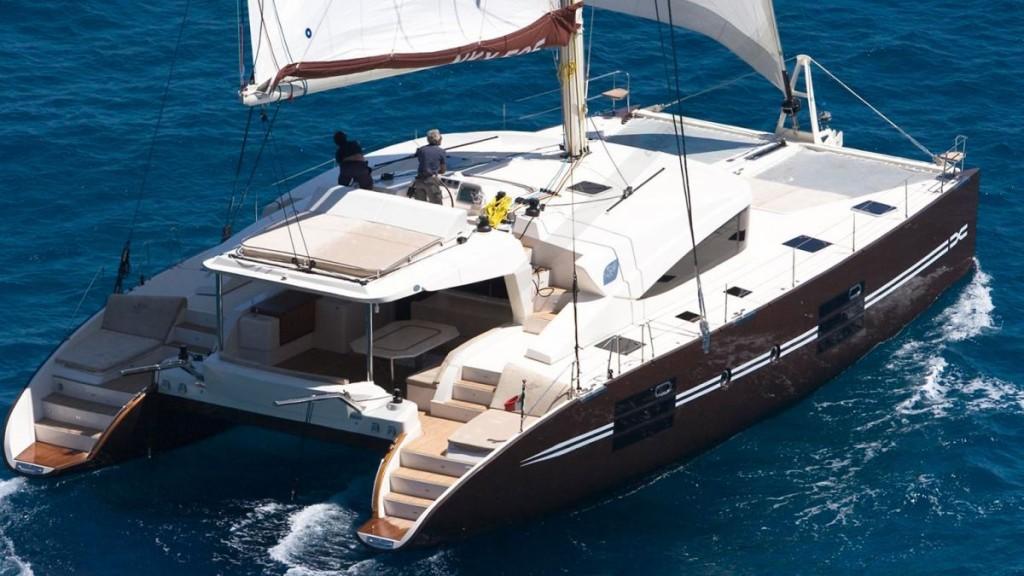 nix 565 noleggio catamarano luxury isole eolie
