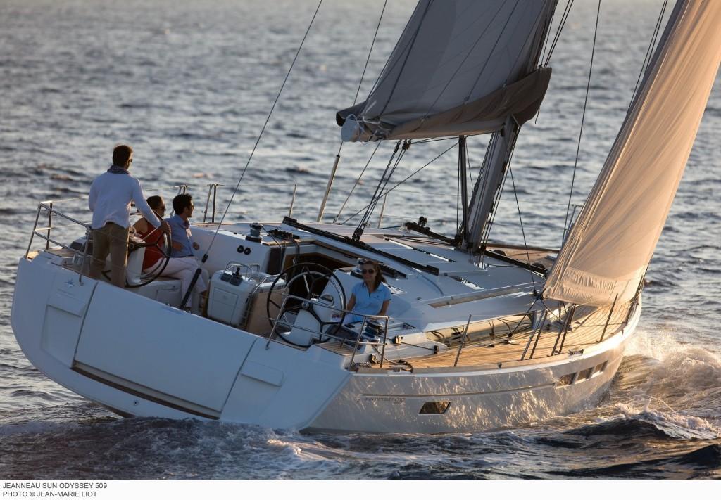 jeanneau 509 noleggio barca a vela da ibiza